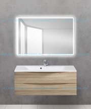Зеркало BelBagno SPC-MAR-1200-800-LED-BTN